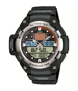 CASIO COLLECTION ANA-DIGI SGW-400H-1BVER