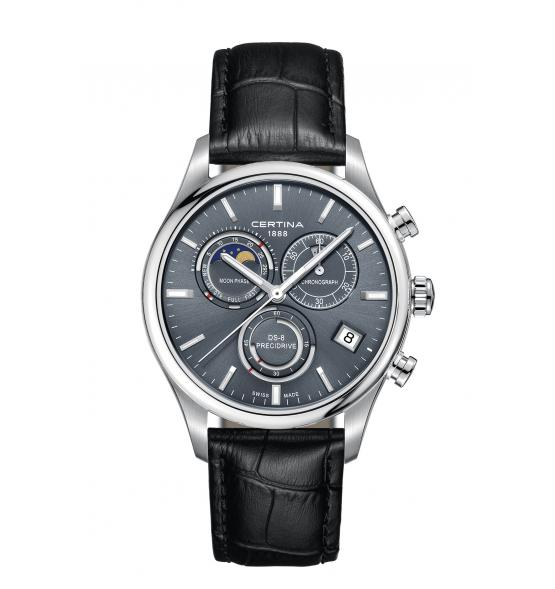 CERTINA DS-8 CHRONOGRAPH MOON PHASE C033.450.16.351.00