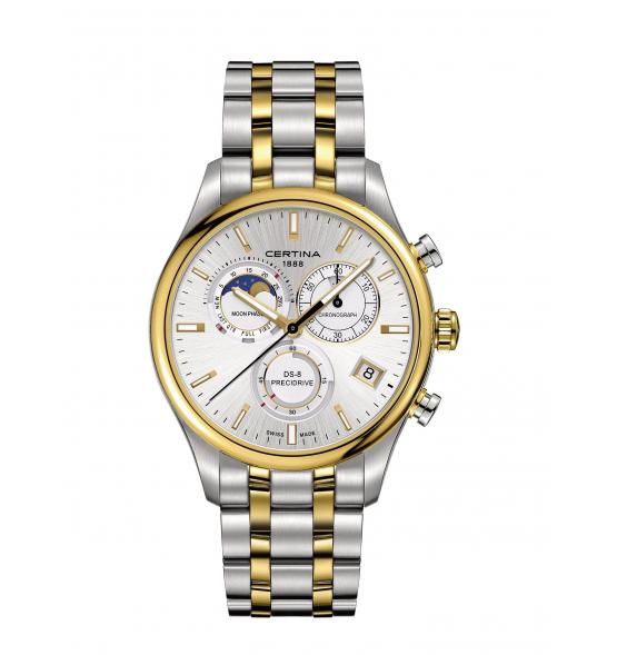CERTINA DS-8 CHRONOGRAPH MOON PHASE C033.450.22.031.00