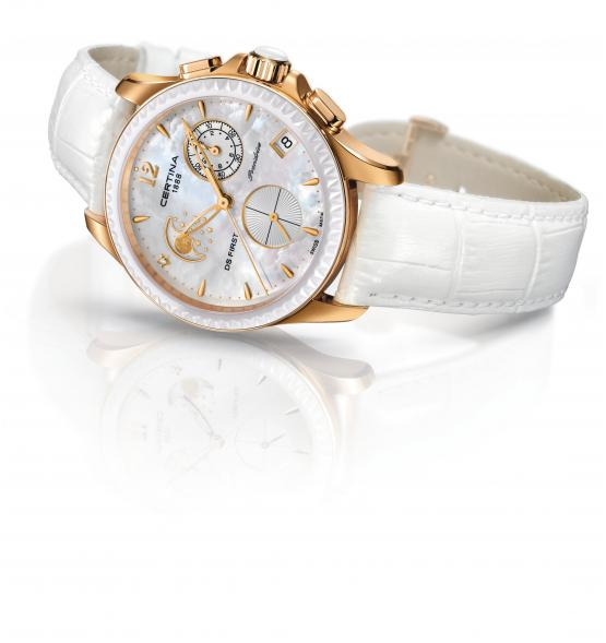CERTINA DS FIRST LADY CHRONOGRAPH MOON PHASE C030.250.36.106.0