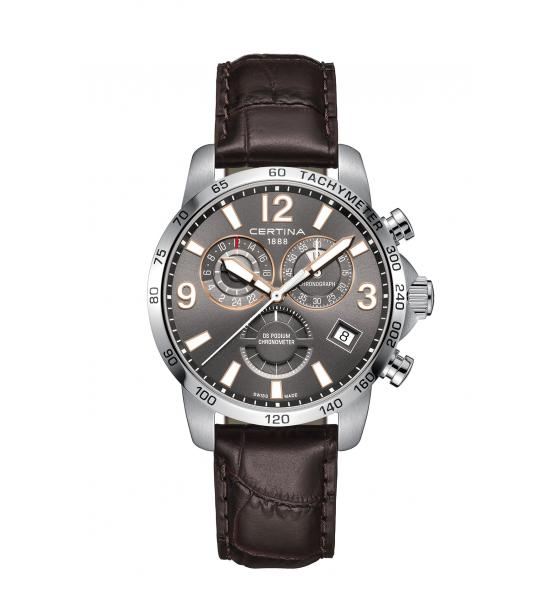 CERTINA DS PODIUM CHRONOGRAPH GMT C034.654.16.087.01