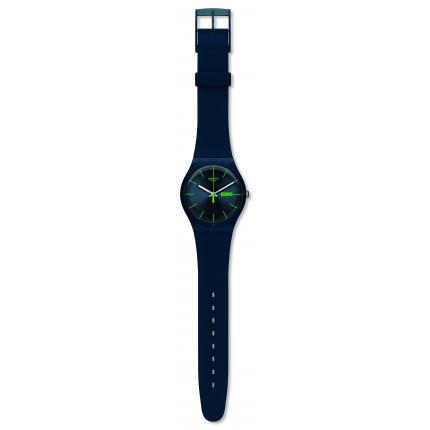 SWATCH NEW GENT BLUE REBEL SUON700