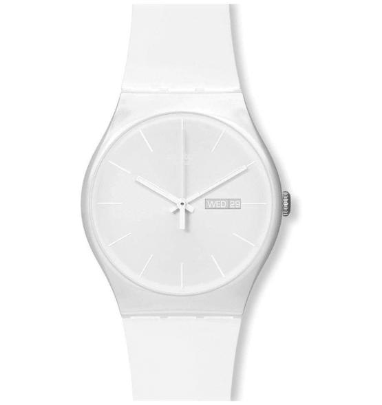 SWATCH NEW GENT WHITE REBEL SUOW701