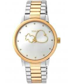 TOUS BEAR TIME BICOLOR DE ACERO/IP DORADO 900350310
