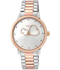 TOUS BEAR TIME BICOLOR DE ACERO/IP ROSADO 900350315